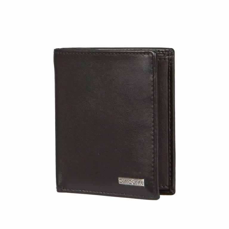 Samsonite S-Derry 57649 Börse Black, Farbe: schwarz, Marke: Samsonite, Abmessungen in cm: 8.5x9.7x1.0, Bild 2 von 4