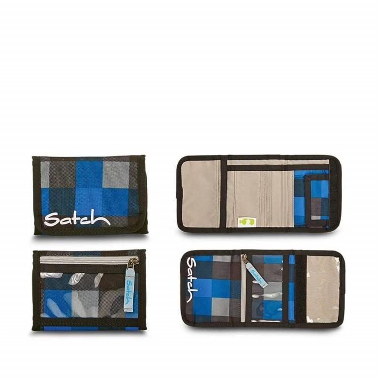 Satch Geldbeutel Airtwist, Farbe: blau/petrol, Marke: Satch, EAN: 4260217198648, Abmessungen in cm: 13.0x8.5x2.0, Bild 1 von 1