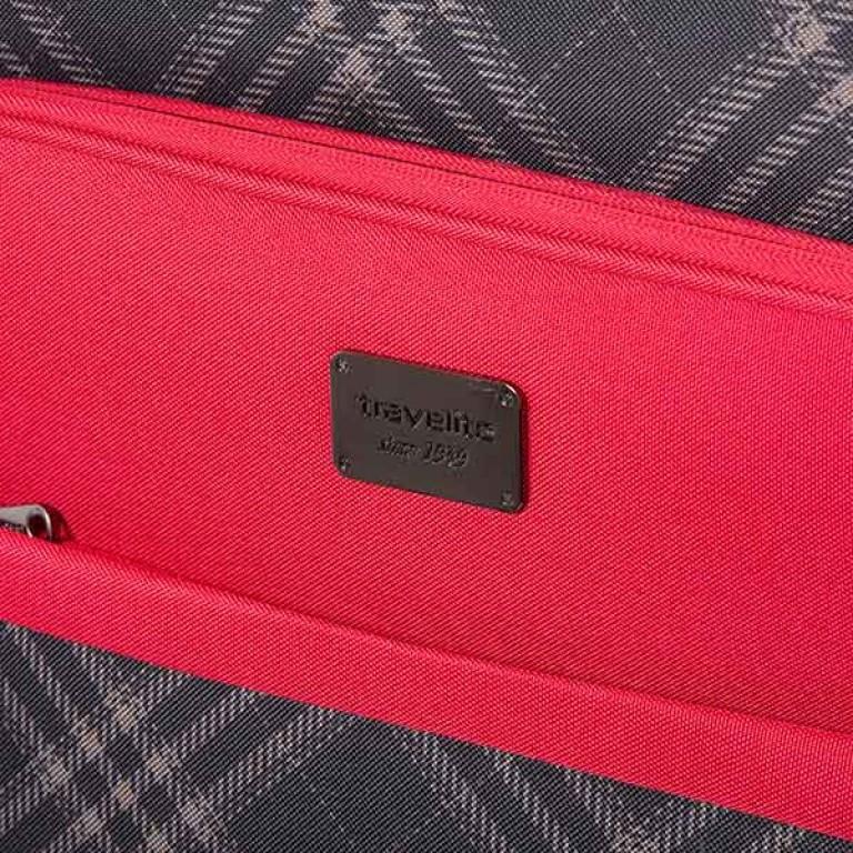 Travelite Rombo 2-Rad Trolley 52cm Rot, Farbe: rot/weinrot, Marke: Travelite, Bild 4 von 7