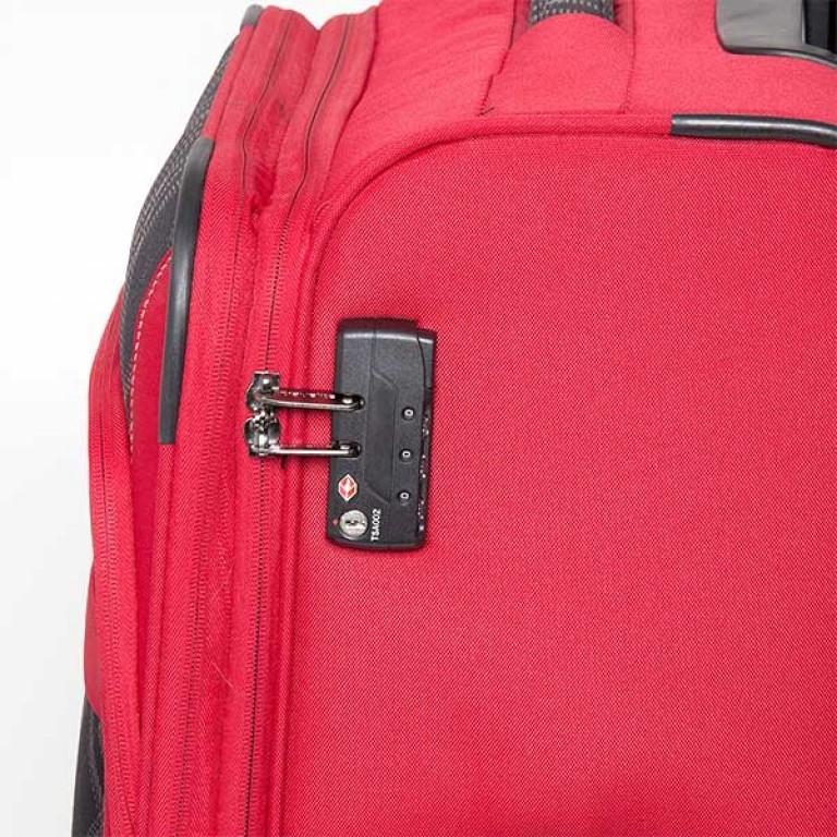 Travelite Rombo 2-Rad Trolley 52cm Rot, Farbe: rot/weinrot, Marke: Travelite, Bild 5 von 7