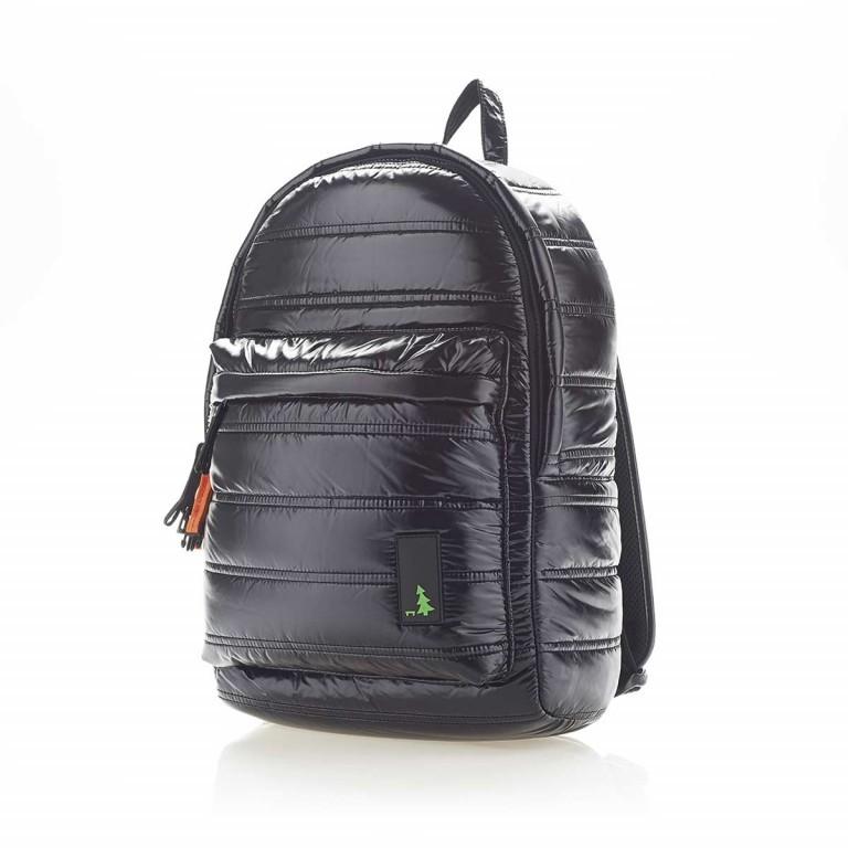 MUeSLii II RC1 Classic Shiny Rucksack Pitch Black, Farbe: schwarz, Marke: Mueslii, EAN: 8051093660031, Abmessungen in cm: 23.0x35.0x10.0, Bild 2 von 4