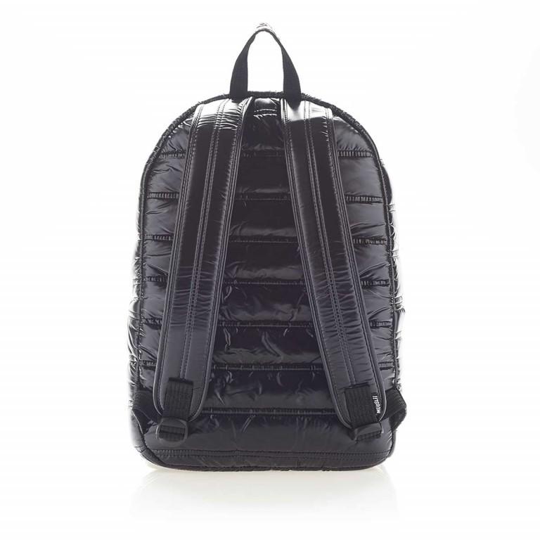 MUeSLii II RC1 Classic Shiny Rucksack Pitch Black, Farbe: schwarz, Marke: Mueslii, EAN: 8051093660031, Abmessungen in cm: 23.0x35.0x10.0, Bild 4 von 4