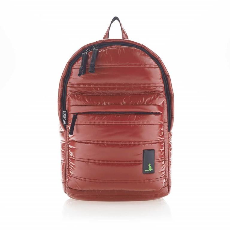 MUeSLii II RC1 Classic Shiny Rucksack Crimson Red, Farbe: rot/weinrot, Marke: Mueslii, EAN: 8051093660048, Abmessungen in cm: 23.0x35.0x10.0, Bild 1 von 4