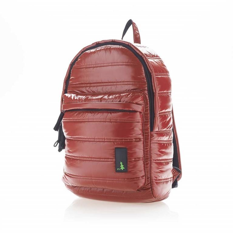 MUeSLii II RC1 Classic Shiny Rucksack Crimson Red, Farbe: rot/weinrot, Marke: Mueslii, EAN: 8051093660048, Abmessungen in cm: 23.0x35.0x10.0, Bild 2 von 4