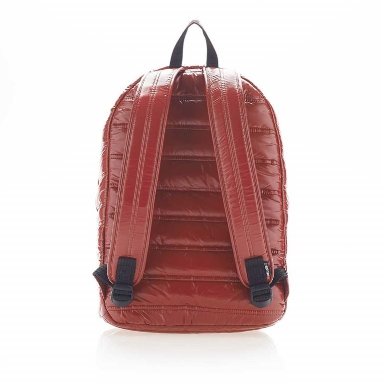 MUeSLii II RC1 Classic Shiny Rucksack Crimson Red, Farbe: rot/weinrot, Marke: Mueslii, EAN: 8051093660048, Abmessungen in cm: 23.0x35.0x10.0, Bild 4 von 4