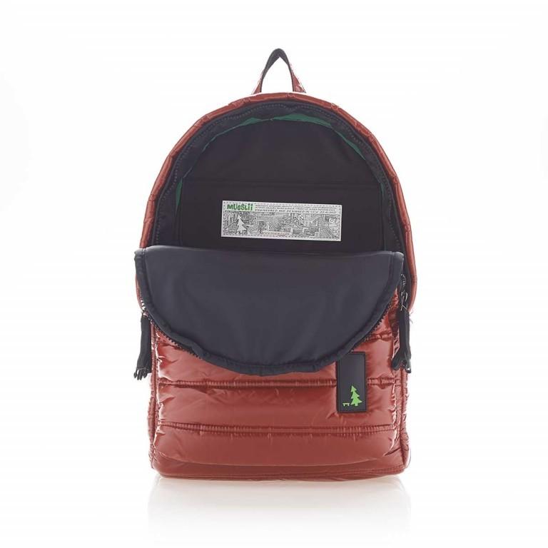 MUeSLii II RC1 Classic Shiny Rucksack Crimson Red, Farbe: rot/weinrot, Marke: Mueslii, EAN: 8051093660048, Abmessungen in cm: 23.0x35.0x10.0, Bild 3 von 4