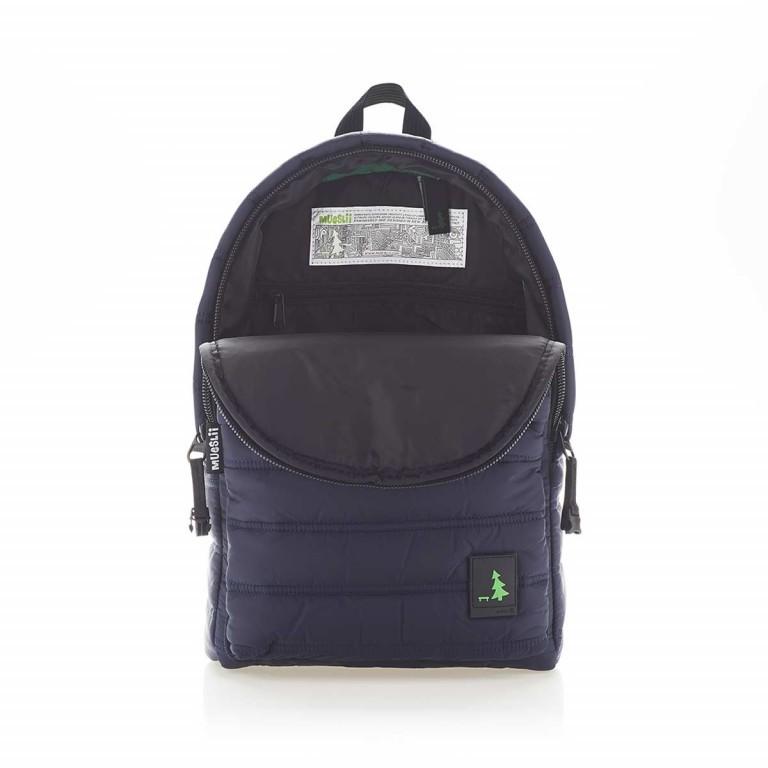MUeSLii RE Rucksack Dark Midnight, Farbe: blau/petrol, Marke: Mueslii, EAN: 8051093661151, Abmessungen in cm: 26.0x37.0x12.0, Bild 3 von 4