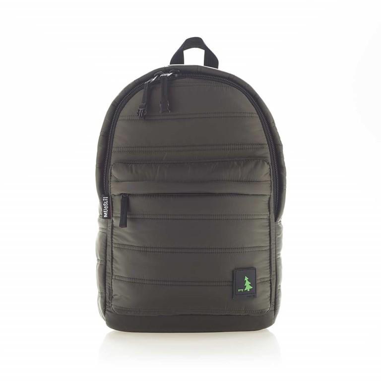 MUeSLii RE Rucksack Dark Green, Farbe: grün/oliv, Marke: Mueslii, EAN: 8051093661175, Abmessungen in cm: 26.0x37.0x12.0, Bild 1 von 4
