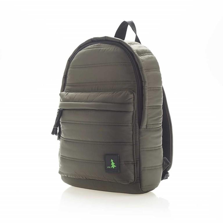 MUeSLii RE Rucksack Dark Green, Farbe: grün/oliv, Marke: Mueslii, EAN: 8051093661175, Abmessungen in cm: 26.0x37.0x12.0, Bild 2 von 4