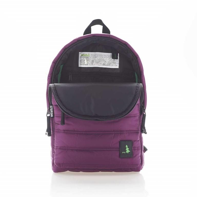 MUeSLii RE Rucksack Dark Purple, Farbe: flieder/lila, Marke: Mueslii, EAN: 8051093661403, Abmessungen in cm: 26.0x37.0x12.0, Bild 3 von 4