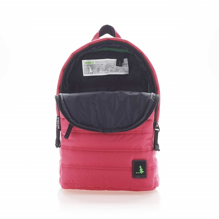 MUeSLii RE Rucksack French Pink, Farbe: rosa/pink, Manufacturer: Mueslii, EAN: 8051093661618, Dimensions (cm): 26.0x37.0x12.0, Image 3 of 4