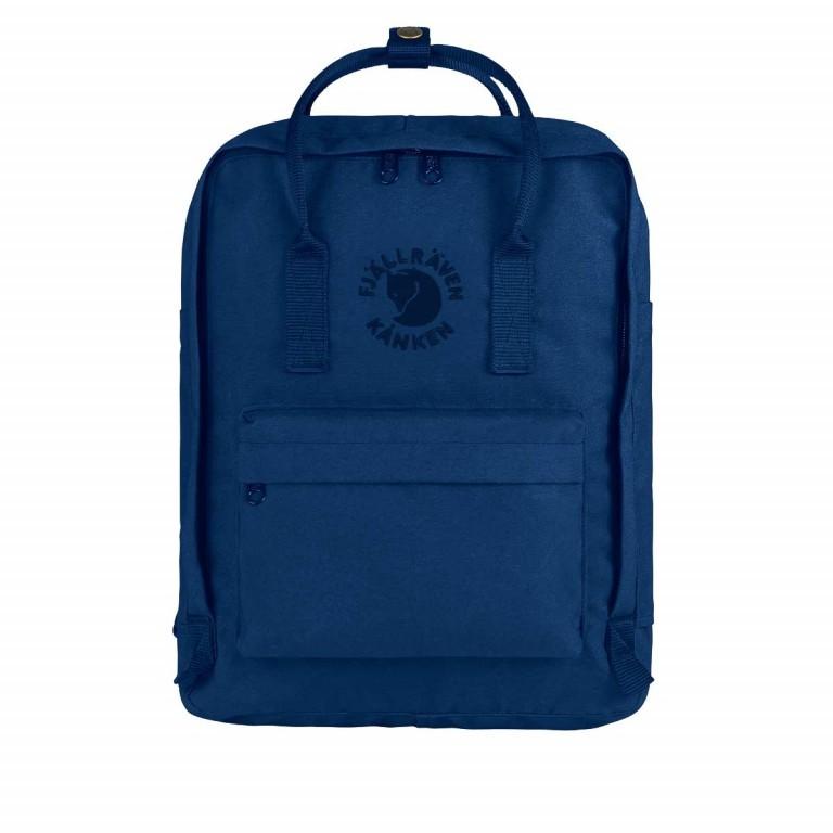 Fjällräven Re-Kånken Rucksack Midnight-Blue, Farbe: blau/petrol, Marke: Fjällräven, EAN: 7323450260217, Abmessungen in cm: 27.0x38.0x13.0, Bild 1 von 5