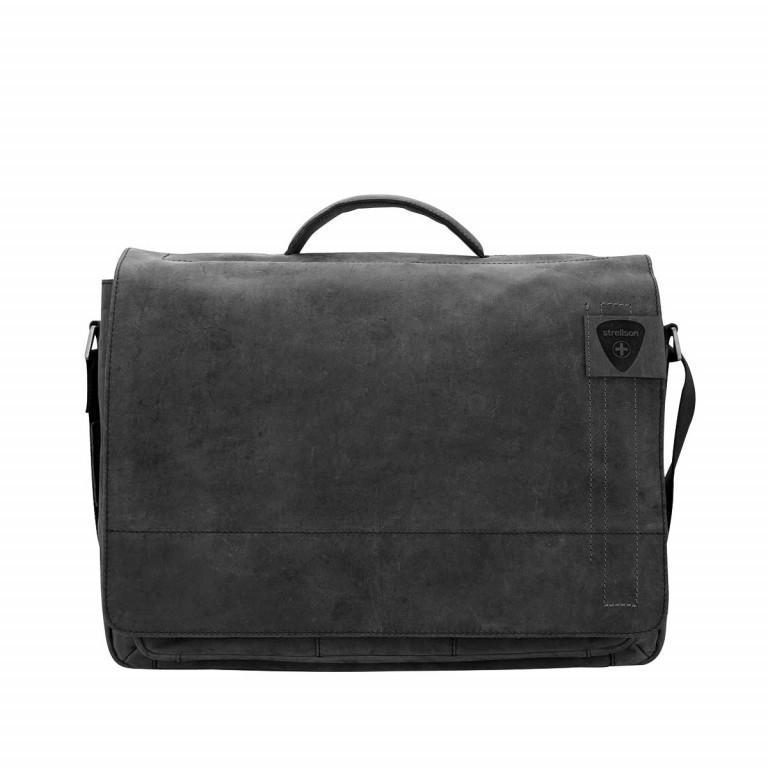 Strellson Richmond Briefbag L Black, Farbe: schwarz, Marke: Strellson, EAN: 4053533131280, Abmessungen in cm: 40.0x29.0x12.0, Bild 1 von 1