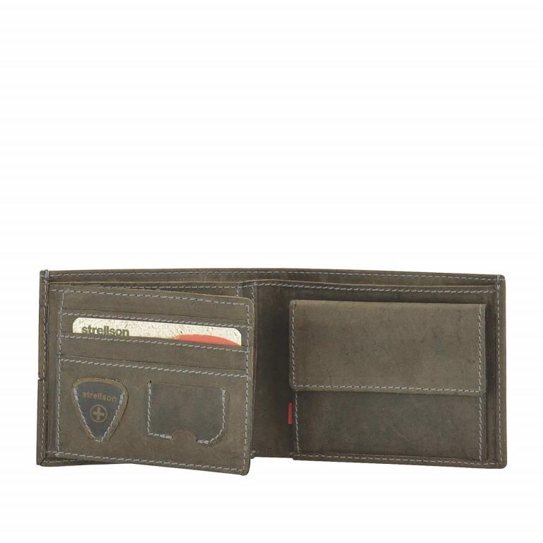 Strellson Richmond Billfold H6 Geldbörse Leder Dark Brown, Farbe: braun, Marke: Strellson, EAN: 4053533141869, Abmessungen in cm: 11.5x9.5x2.0, Bild 2 von 2