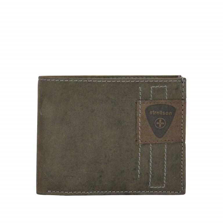 Strellson Richmond Billfold H6 Geldbörse Leder Dark Brown, Farbe: braun, Marke: Strellson, EAN: 4053533141869, Abmessungen in cm: 11.5x9.5x2.0, Bild 1 von 2