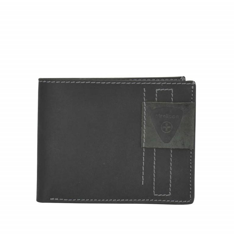 Strellson Richmond Billfold H6 Geldbörse Leder Black, Farbe: schwarz, Marke: Strellson, EAN: 4053533141876, Abmessungen in cm: 11.5x9.5x2.0, Bild 1 von 2