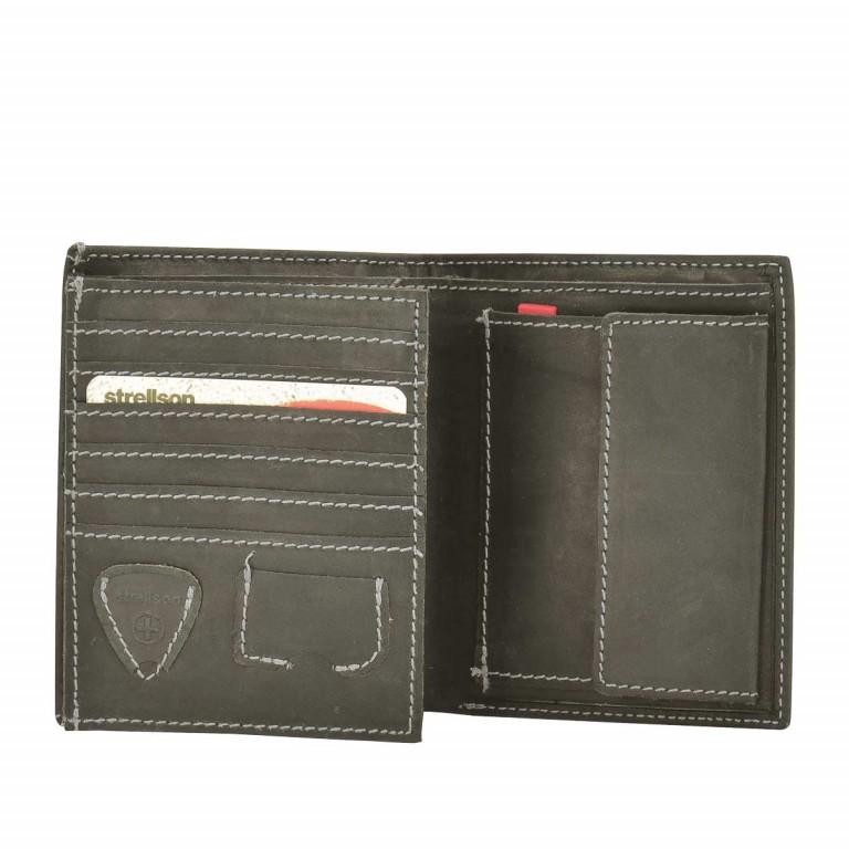 Strellson Richmond Billfold V12 Geldbörse Leder Dark Brown, Farbe: braun, Marke: Strellson, EAN: 4053533141883, Abmessungen in cm: 10.5x13.0x2.0, Bild 2 von 2