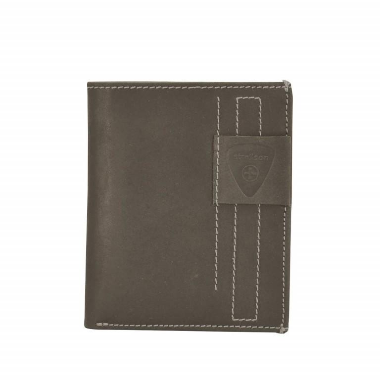 Strellson Richmond Billfold V12 Geldbörse Leder Dark Brown, Farbe: braun, Marke: Strellson, EAN: 4053533141883, Abmessungen in cm: 10.5x13.0x2.0, Bild 1 von 2