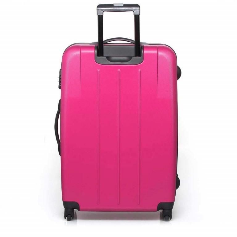 Travelite Robusto 4-Rad Trolley 77cm  Pink, Farbe: rosa/pink, Marke: Travelite, Abmessungen in cm: 50.0x77.0x31.0, Bild 3 von 5