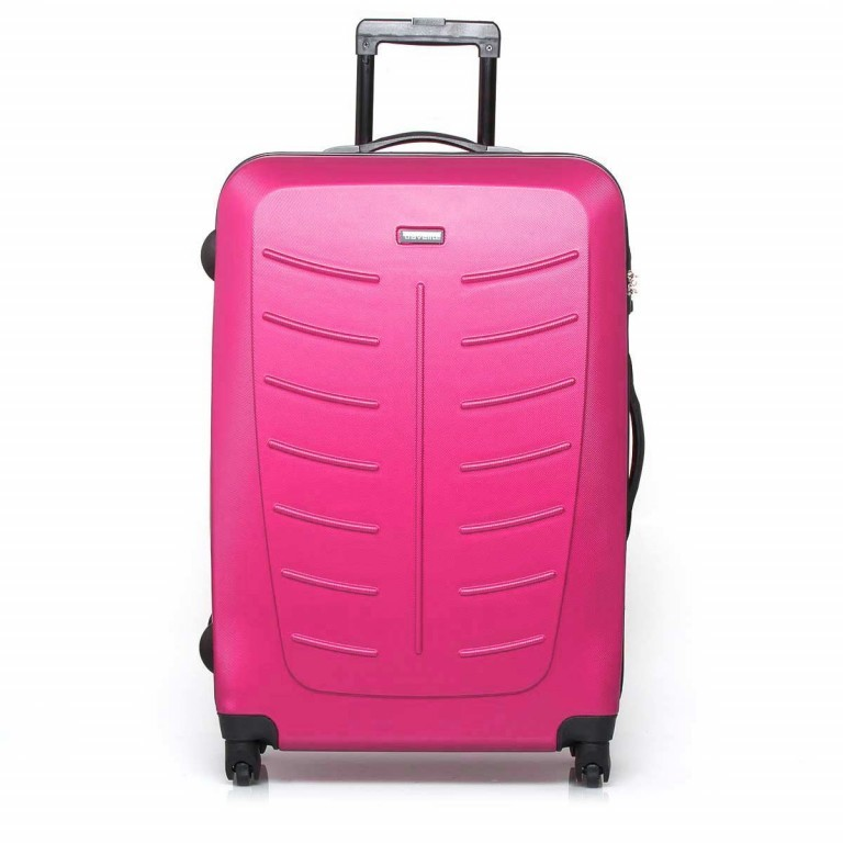 Travelite Robusto 4-Rad Trolley 77cm  Pink, Farbe: rosa/pink, Marke: Travelite, Abmessungen in cm: 50.0x77.0x31.0, Bild 1 von 5