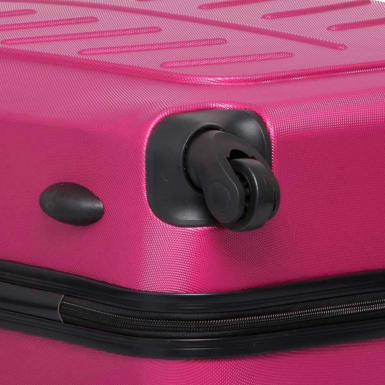 Travelite Robusto 4-Rad Trolley 66cm Pink, Farbe: rosa/pink, Marke: Travelite, Abmessungen in cm: 45.0x66.0x27.0, Bild 5 von 5