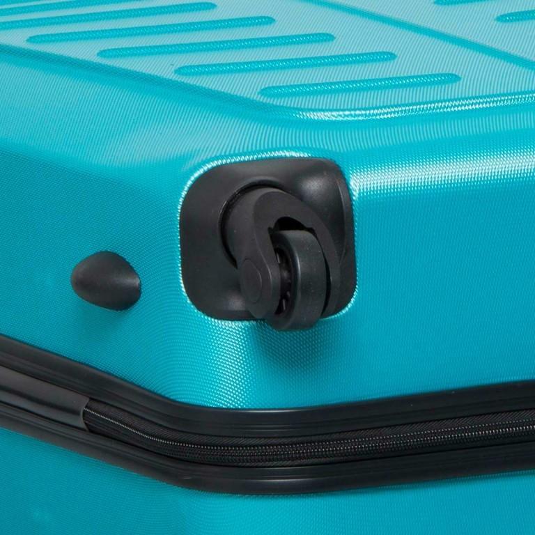 Travelite Robusto 4-Rad Trolley 66cm Türkis, Farbe: grün/oliv, Marke: Travelite, Abmessungen in cm: 45.0x66.0x27.0, Bild 5 von 5