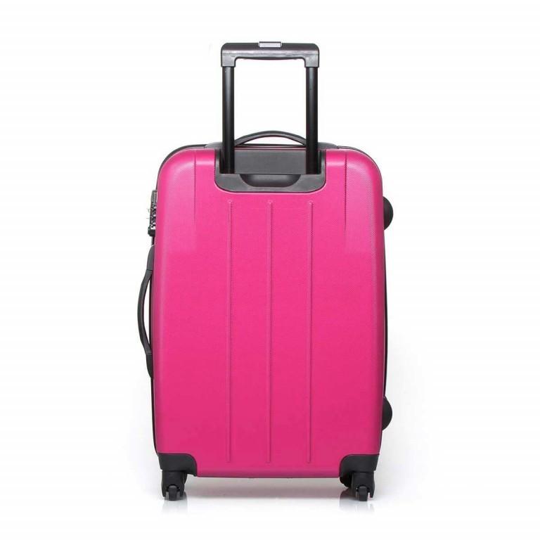 Travelite Robusto 4-Rad Trolley 66cm Pink, Farbe: rosa/pink, Marke: Travelite, Abmessungen in cm: 45.0x66.0x27.0, Bild 3 von 5
