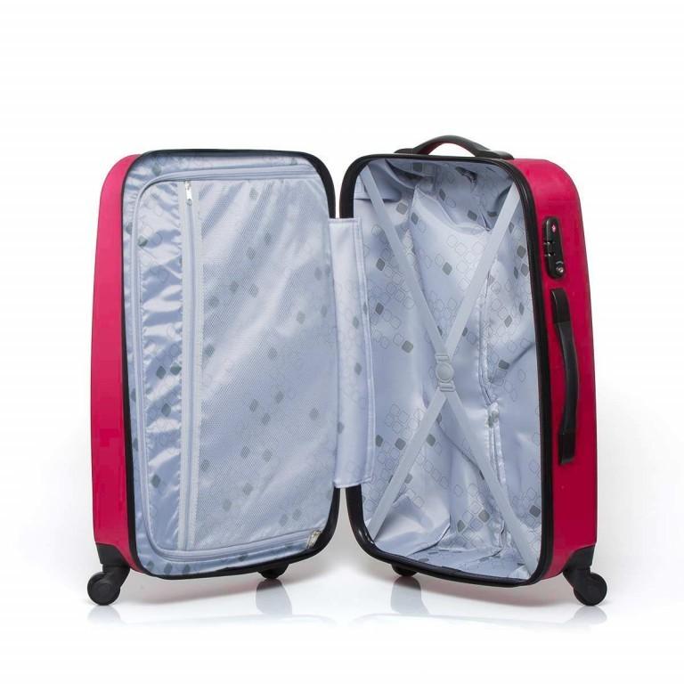 Travelite Robusto 4-Rad Trolley 66cm Pink, Farbe: rosa/pink, Marke: Travelite, Abmessungen in cm: 45.0x66.0x27.0, Bild 2 von 5