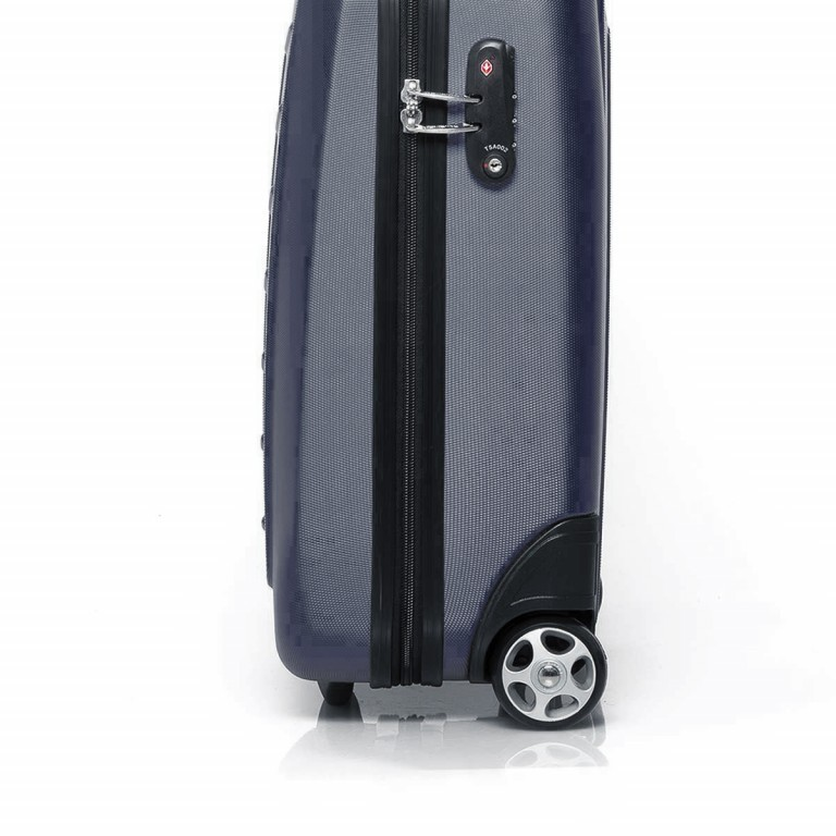 Travelite Robusto 2-Rad Trolley 53cm Anthrazit, Farbe: anthrazit, Marke: Travelite, Abmessungen in cm: 35.0x53.0x20.0, Bild 4 von 4