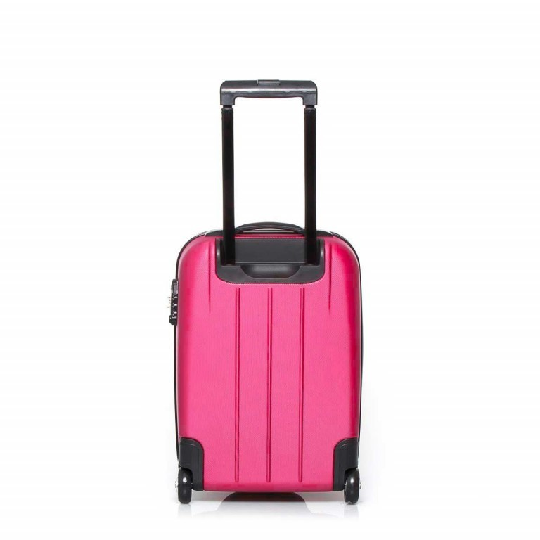 Travelite Robusto 2-Rad Trolley 53cm Pink, Farbe: rosa/pink, Manufacturer: Travelite, Dimensions (cm): 35.0x53.0x20.0, Image 3 of 4