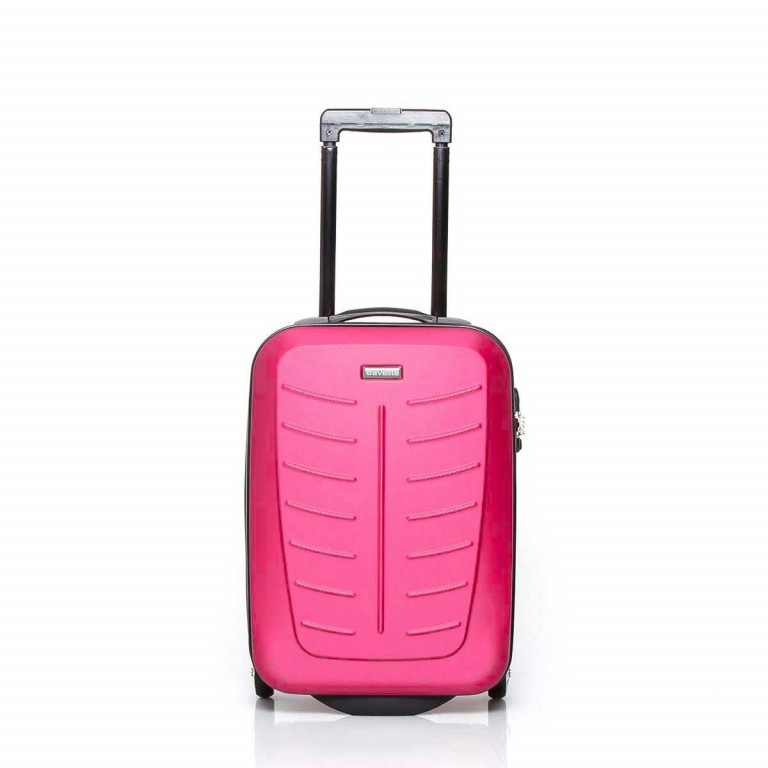 Travelite Robusto 2-Rad Trolley 53cm Pink, Farbe: rosa/pink, Manufacturer: Travelite, Dimensions (cm): 35.0x53.0x20.0, Image 1 of 4