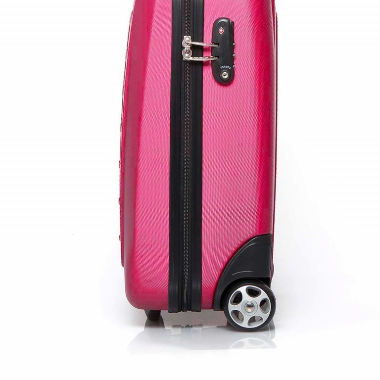 Travelite Robusto 2-Rad Trolley 53cm Pink, Farbe: rosa/pink, Manufacturer: Travelite, Dimensions (cm): 35.0x53.0x20.0, Image 4 of 4