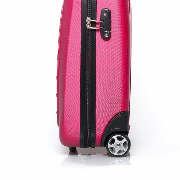 Travelite Robusto 2-Rad Trolley 53cm Pink, Farbe: rosa/pink, Marke: Travelite, Abmessungen in cm: 35.0x53.0x20.0, Bild 4 von 4