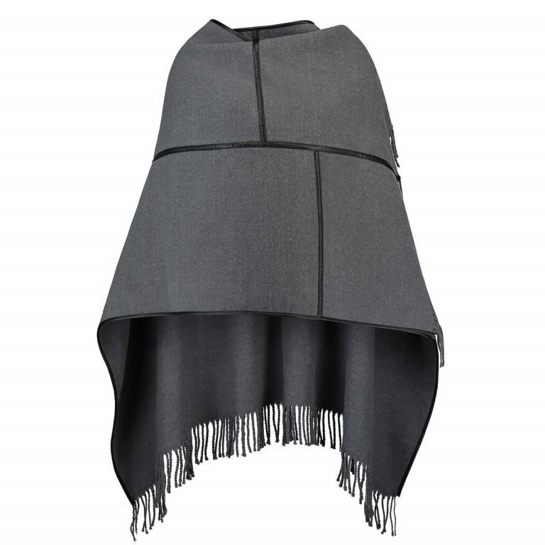 RINO & PELLE Poncho Batoel Grey, Farbe: grau, Marke: Rino & Pelle, Bild 1 von 2