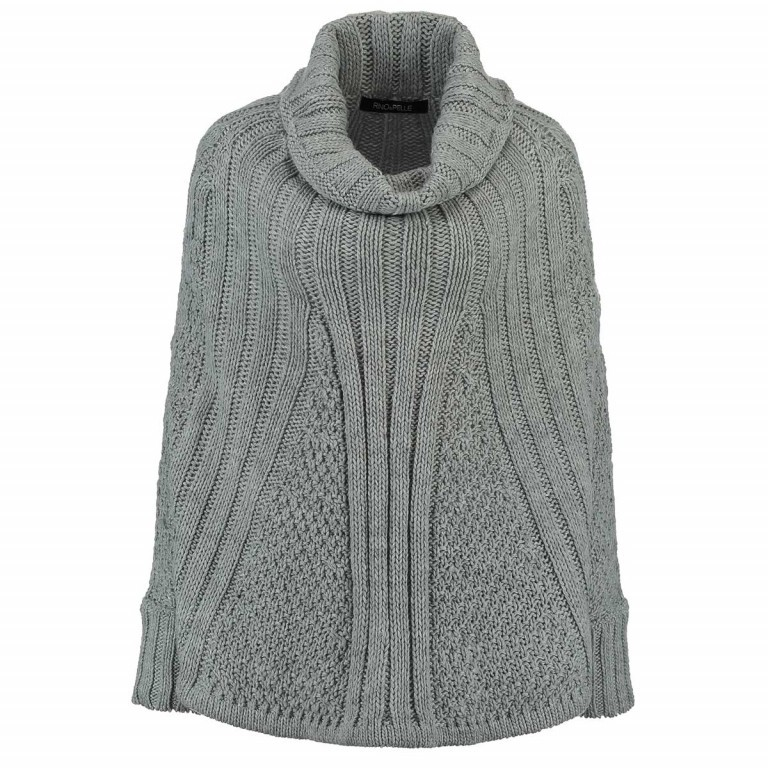 RINO & PELLE Poncho-Pulli Bobbi Grey Gr.M, Farbe: grau, Marke: Rino & Pelle, Bild 1 von 2