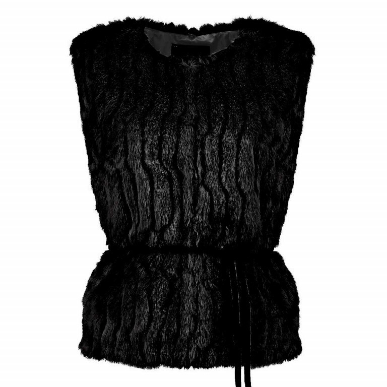 RINO & PELLE Weste Pancho Black Gr.38, Farbe: schwarz, Marke: Rino & Pelle, Bild 1 von 2