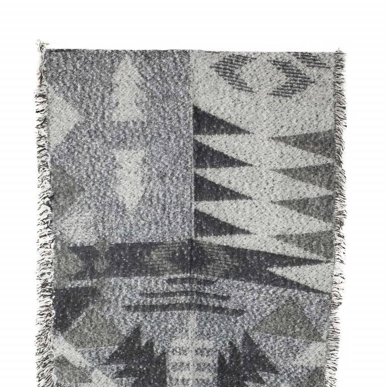RINO & PELLE Schal ScarfJacy Grey, Farbe: grau, Marke: Rino & Pelle, Abmessungen in cm: 68.0x260.0, Bild 2 von 2