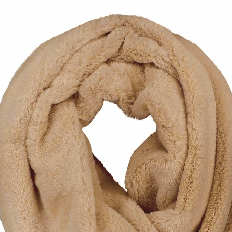 RINO & PELLE Loop ScarfSeed Camel, Farbe: cognac, Manufacturer: Rino & Pelle, Image 2 of 2