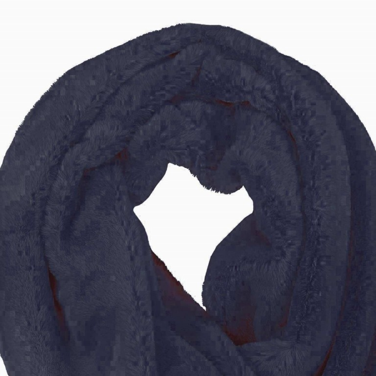 RINO & PELLE Loop ScarfSeed Navy Blue, Farbe: blau/petrol, Manufacturer: Rino & Pelle, Image 2 of 2
