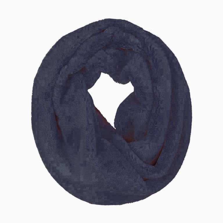RINO & PELLE Loop ScarfSeed Navy Blue, Farbe: blau/petrol, Manufacturer: Rino & Pelle, Image 1 of 2