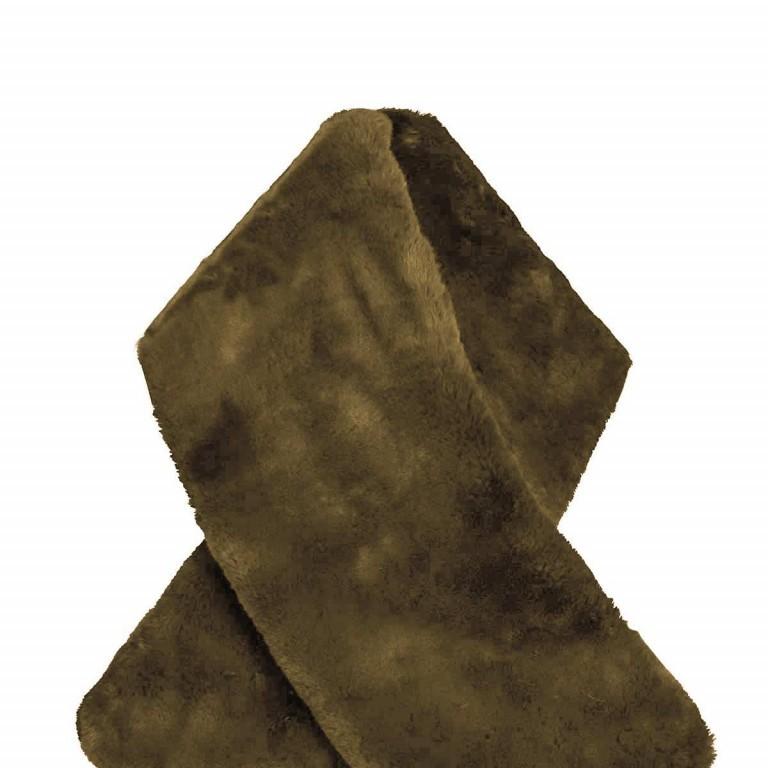RINO & PELLE Schal ScarfStip Green, Farbe: grün/oliv, Marke: Rino & Pelle, Abmessungen in cm: 20.0x105.0, Bild 2 von 2
