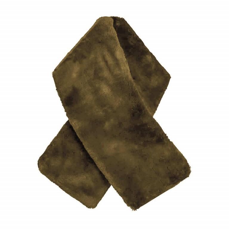 RINO & PELLE Schal ScarfStip Green, Farbe: grün/oliv, Marke: Rino & Pelle, Abmessungen in cm: 20.0x105.0, Bild 1 von 2