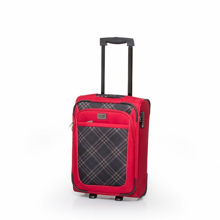 Travelite Rombo 2-Rad Trolley 52cm Rot, Farbe: rot/weinrot, Marke: Travelite, Bild 1 von 7