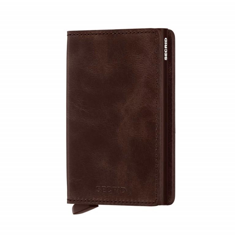 SECRID Slimwallet Vintage Brown, Farbe: braun, Marke: Secrid, Abmessungen in cm: 6.8x10.2x1.6, Bild 1 von 3