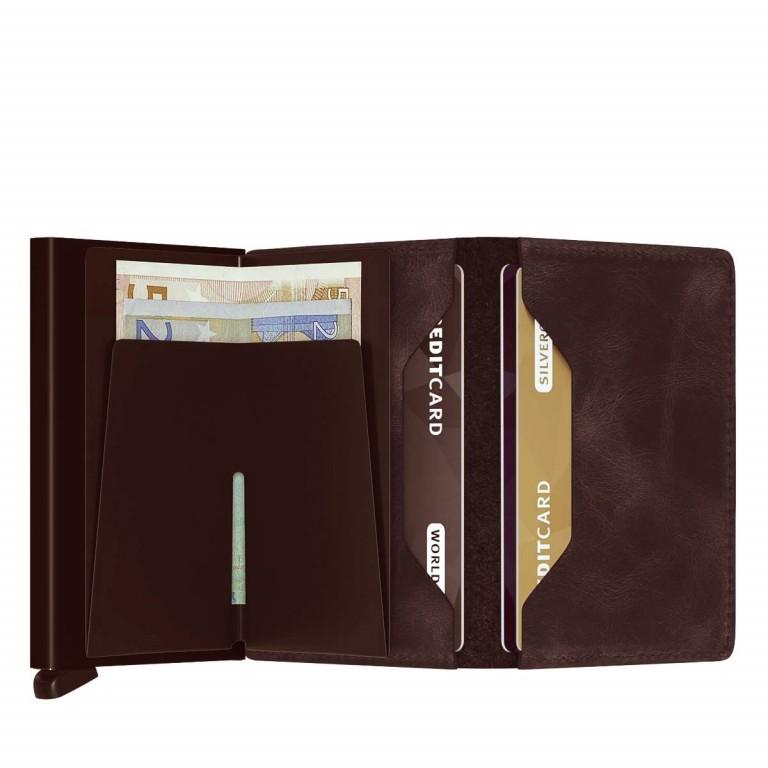 SECRID Slimwallet Vintage Brown, Farbe: braun, Marke: Secrid, Abmessungen in cm: 6.8x10.2x1.6, Bild 2 von 3