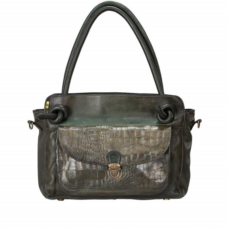 Desiderius Mons Sabilla Shopper Dark Olive, Farbe: grün/oliv, Marke: Desiderius, Abmessungen in cm: 30.0x23.0x10.0, Bild 1 von 3
