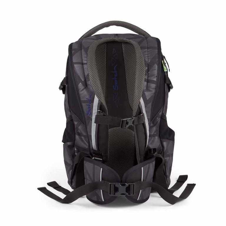 Satch-Air Rucksack Black Triad, Farbe: schwarz, Marke: Satch, EAN: 4260389768366, Abmessungen in cm: 30.0x43.0x22.0, Bild 4 von 4