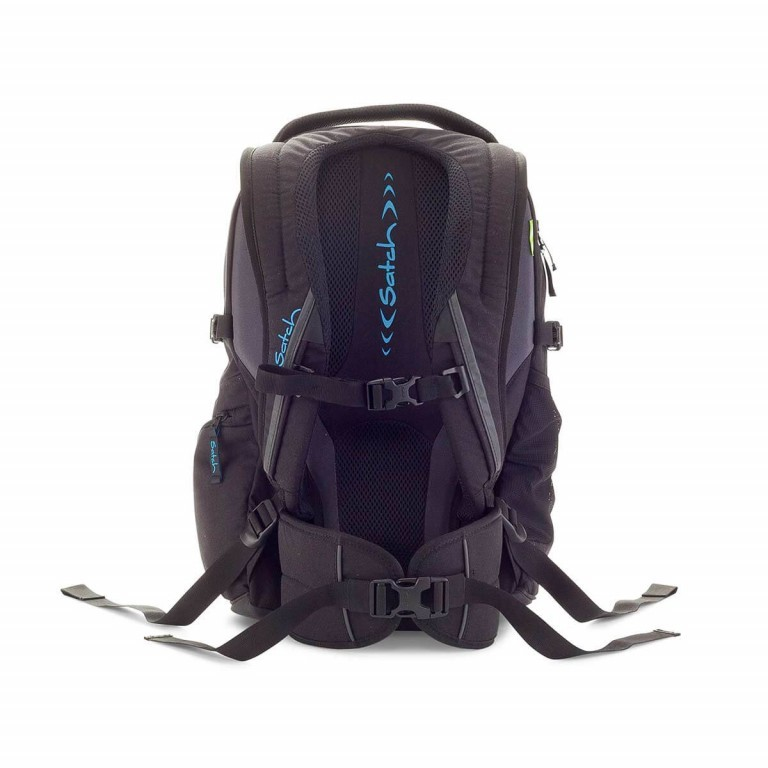 Satch-Air Rucksack Black Bounce, Farbe: schwarz, Manufacturer: Satch, EAN: 4057081004034, Dimensions (cm): 30.0x43.0x22.0, Image 3 of 3