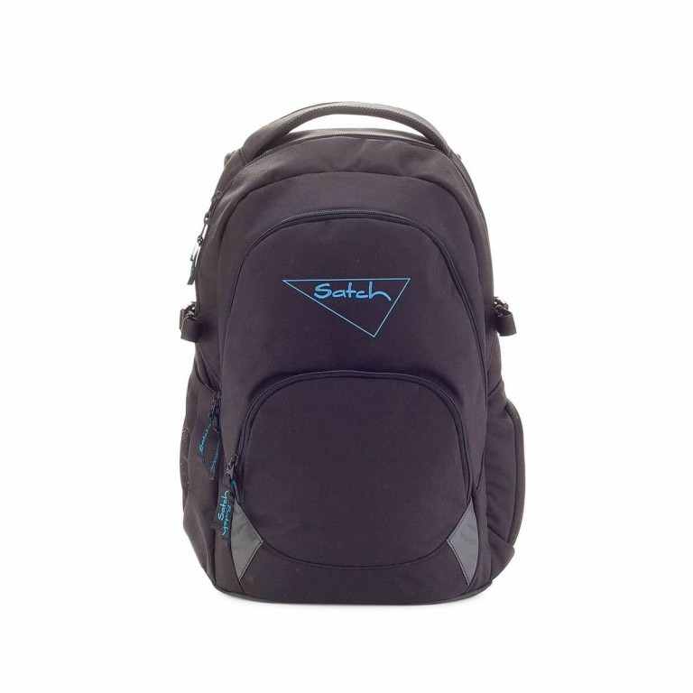 Satch-Air Rucksack Black Bounce, Farbe: schwarz, Manufacturer: Satch, EAN: 4057081004034, Dimensions (cm): 30.0x43.0x22.0, Image 1 of 3