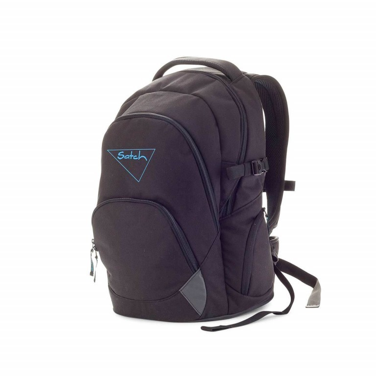 Satch-Air Rucksack Black Bounce, Farbe: schwarz, Manufacturer: Satch, EAN: 4057081004034, Dimensions (cm): 30.0x43.0x22.0, Image 2 of 3
